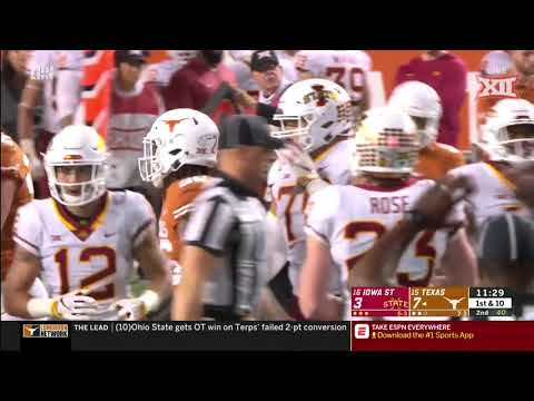Iowa State vs Texas Football Highlights