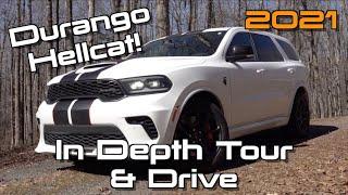 2021 Dodge Durango SRT Hellcat: Start Up, Test Drive & In Depth Review