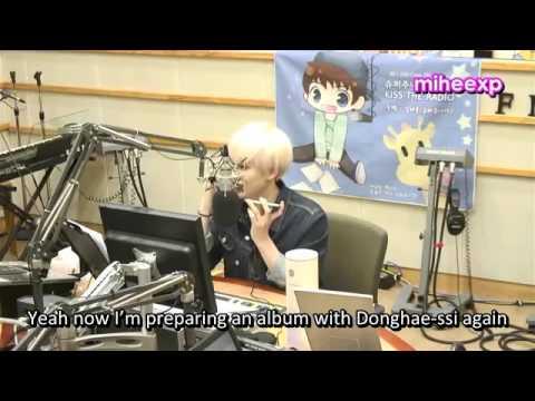 [ENG SUB] 140929 SUKIRA - Eunhyuk call out to Donghae