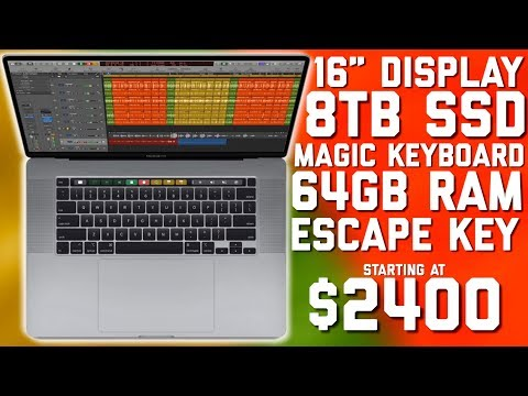 """Apple introduces NEW 16"""" MacBook Pro with HUGE Upgrades"""