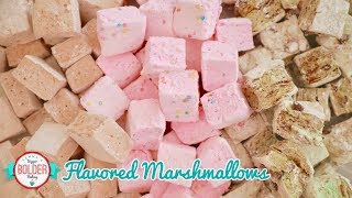 Homemade Marshmallow Recipe with 3 Amazing Flavors!