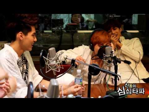 신동의 심심타파 - EXO Xiumin, Freestyle Rap - 엑소 시우민, 앨범소개 프리스타일 랩 20130607