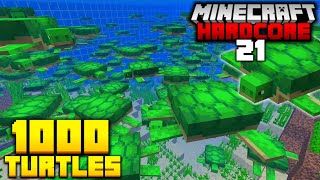 Saving the Turtles in Minecraft Hardcore! (#21)