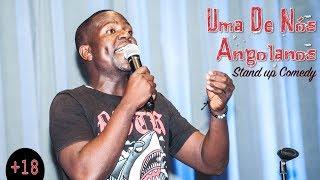 ''Uma De Nós Angolanos'' (Stand Up Comedy) GOZ'AQUi  (S02E05)