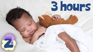 Rock A Bye Baby Non Stop for 3 hours 🍼⭐🎵Relaxing Music & Lullabies for Babies by Zouzounia TV 🎵