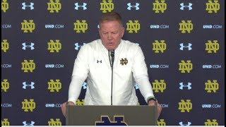 @NDFootball Brian Kelly Post-Game Press Conference - Wake Forest (2017)