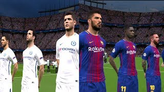 Barcelona vs Chelsea | UEFA Champions League 2017/18 Gameplay
