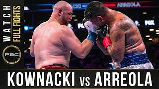 Kownacki vs Arreola Full Fight: August 3, 2019 - PBC on FOX