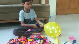 Adi Learn Colors with colourful balloons for kids video fun playtime with balloons