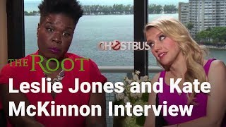 Ghostbusters Interview With Leslie Jones and Kate McKinnon