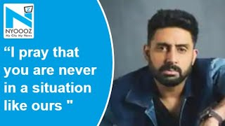 Abhishek Bachchan shuts down a troll in a subtle manner..