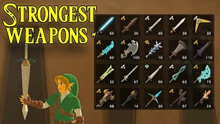 Strongest Weapons in BotW | What, Why & Where