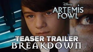 Artemis Fowl Teaser Trailer BREAKDOWN!