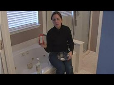 House Cleaning & Stain Removal Tips : Bathtub Stain ...