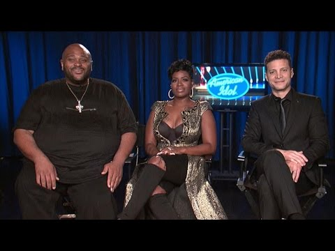 'American Idol' Finale: Fantasia Barrino, Ruben Studdard and Justin Guarini, Live on 'GMA'