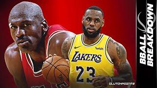 Prime Jordan vs Prime LeBron: Who's The G.O.A.T.?!?