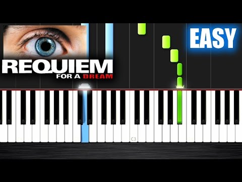 Baixar Requiem for a Dream - EASY Piano Tutorial by PlutaX - Synthesia