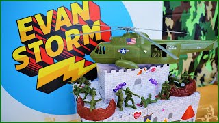 Defend the Valentines Day Castle with Plastic Army Men