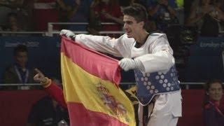 Joel Gonzalez Bonilla (ESP) Wins Taekwondo -58kg Gold - London 2012 Olympics