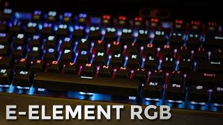 E-Element RGB Keyboard | UNBOXING & REVIEW | Sound Test