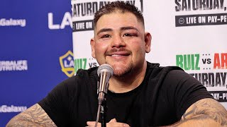 ANDY RUIZ JR REACTS TO WIN OVER CHRIS ARREOLA; WANTS TO GET BACK IN GYM AND FIGHT AGAIN