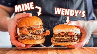 Making The Wendy's Baconator At Home | But Better
