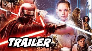 Star Wars Episode IX Teaser Trailer - The Rise of Skywalker Breakdown