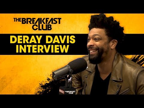 DeRay Davis Talks Bad Words, Dirty Videos, Guiding Comedic Youth + More