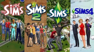 All Trailers From The Sims 1 To Sims 4 (2000-2020)