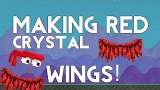 GROWTOPIA | Making A Red Crystal Wing