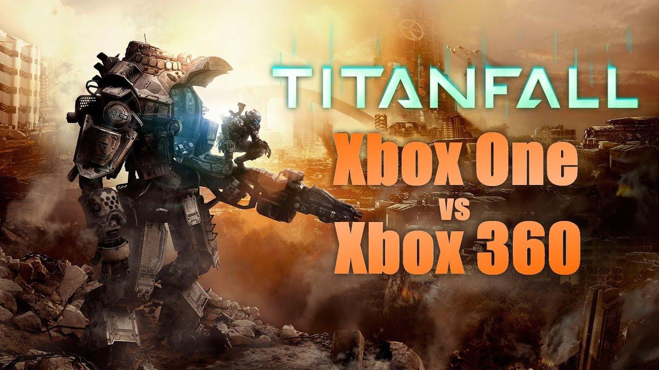 Titanfall - Xbox One vs Xbox 360 Graphics Comparison - YouTube