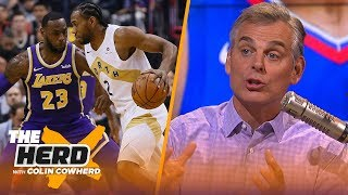 Colin reacts to Kawhi's decision & explains why it wasn't a slight towards LeBron | NBA | THE HERD