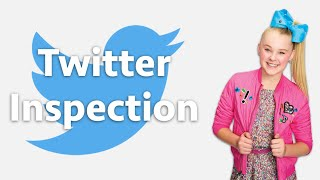 Jojo Siwa Teaches me How to Stand Up to my Haters (Twitter Inspection #2)