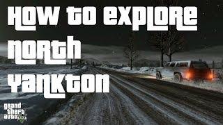 GTA V: How to Explore North Yankton (Single Player Glitch)
