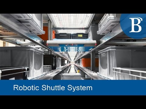 New Robotic Shuttle Technology Provides Goods-to-Person Fulfillment