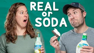 Would You Eat Apple Pie with Bacon?   Real vs Soda Challenge #2