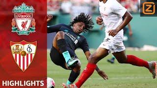 TALENT krijgt DOODSCHOP | Liverpool vs Sevilla | Samenvatting vriendschappelijke wedstrijd | 2019/20