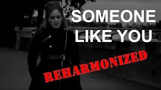 Reharmonization of Someone Like You by Adele
