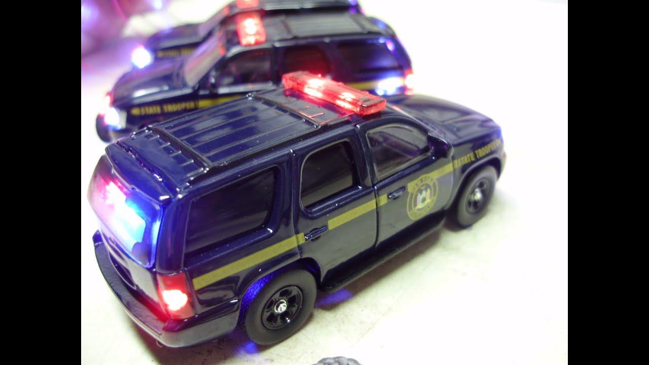 Strobe Lights For Trucks >> John's Custom JADA Hero Patrol 64th scale New York State ...