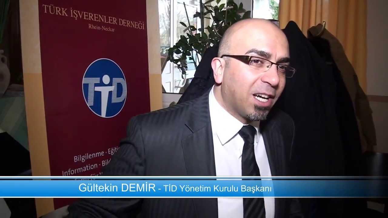 Rhein-Neckar Türk İşverenler Derneği (TİD) Kahvaltısı