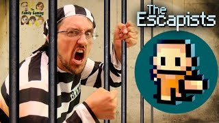 Duddy tries to Escape from Jail! Lets Play THE ESCAPISTS!  (FGTEEV Gameplay)
