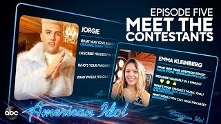 Meet the American Idol Contestants Going to Hollywood - Episode 5 - American Idol 2019 on ABC