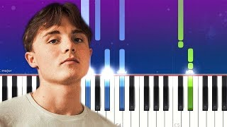 James Smith - Tell Me That You Love Me (Piano tutorial)