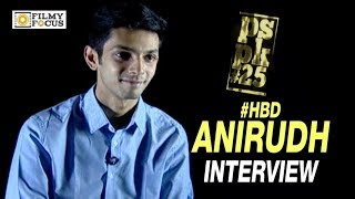 Anirudh Ravichander Interview about #PSPK 25th Movie