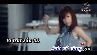 KARAOKE Om Em Roi Xa Remix   Tiep Nguyen HD