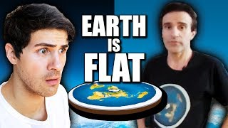 I spent a day with FLAT EARTHERS
