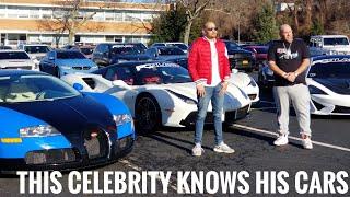 DJ Envy is About That Life in a $300k Ferrari : PCBlast Car Rally