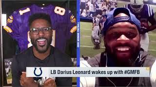 Darius Leonard Discusses What Rivers & Buckner Bring To Colts | Good Morning Football