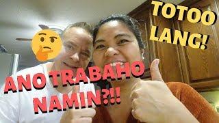 BUHAY AMERIKA: ANO BAGA ANG TOTOONG TRABAHO NAMIN NI DEDDY!!  FIL-AM FAMILY VLOG