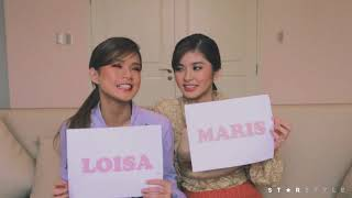 """""""Who's Most Likely To..."""" with Maris Racal & Loisa Andalio 